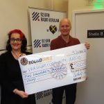 Cheque presentation in St Albans