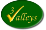 Three Valleys logo