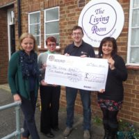 A £500 donation brings brings relief to addicted people through Art therapy