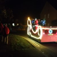 Over £17,000 raised by our Santa Float – new record!