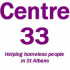 It's very cold – we donated to Centre33