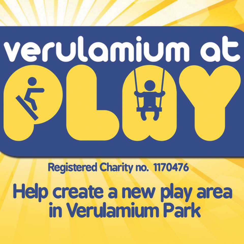 Verulamium at play logo