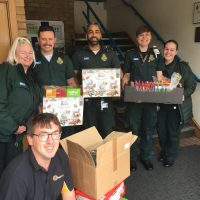 Supporting the NHS – local ambulance services